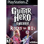 Jogo Ps2 - Guitar Hero - Encore Rocks The 80s