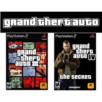 Patches Gta Gran Theft Auto 3 E 4 (modificações Perfeitas)
