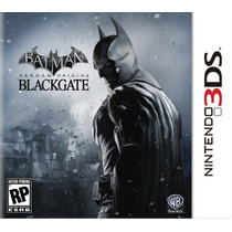 Jogo Novo Batman: Arkham Origins Blackgate Para Nintendo 3ds