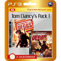 Rainbow Six Vegas Complete Pack! (códigos Ps3)