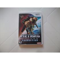 Wii: Metroid Prime 3 Corrupition - Completo Americano