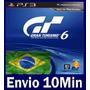 Gran Turismo 6 Ps3 Código Psn - Em Português