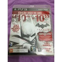 Batman Arkham City Goty Ps3 Em Português Midia Fisica