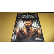X-men Origins: Wolverine Playstation 2 Original Excelente !