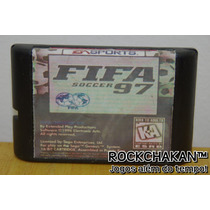 Fifa Soccer 97 Gold Edition - Futebol - Jogo - P/ Mega Drive