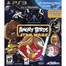 Ps3 - Angry Birds Star Wars - Míd Fís - Original - Original