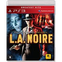 L.a. Noire Mídia Física Lacrado Playstation 3 - Ps3