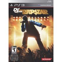 Jogo Game Def Jam Rapstar Ps3 Pronta Entrega Sony Lacrado