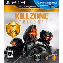 Jogo Ps3 Killzone Triology - Midia Fisica