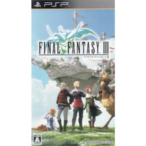 Final Fantasy Iii Psp Raro!!!!