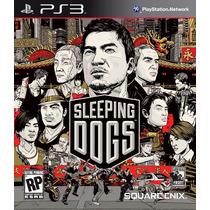 Sleeping Dogs Playstation 3 Jogo Ps3 Pronta Entrega Lacrado