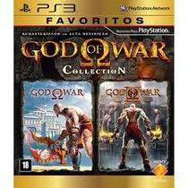 God Of War Colletion - Jogo Novo Ps3