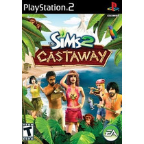 The Sims 2 Castaway Ps2 Patch Impresso Na Mídia