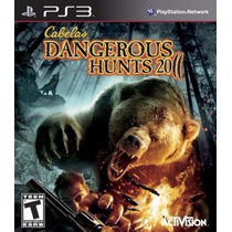 Jogo Recon Cabelas Dangerous Hunts 2011 Playstation 3 Ps3