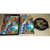 Play 2: Megaman X Collection Americano Completo!! Jogaço!!