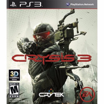 Crysis 3 - Original Ps3 - Novo Lacrado