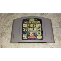 International Super Star Soccer 64 Original P/ Nintendo 64