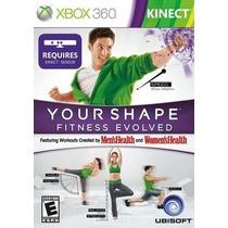 Jogo Your Shape Fitness Evolved Ntsc Original Para Xbox 360
