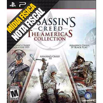 Assassins Creed 3 + 4+ Liberation American Collection Ps3