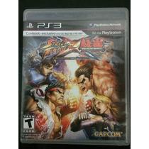 Street Fighter Vs Tekken Ps3 Mídia Física Usada