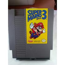 Super Mario Bros 3 Nes Nintendinho Original Gravando