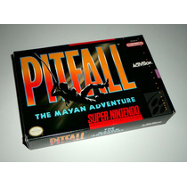 Pitfall: The Mayan Adventure Original Completo - Snes