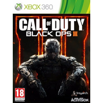 Call Of Duty Black Ops 3 / Xbox 360 Jogo Novo