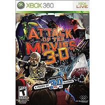 Attack Of The Movies 3-d-jogo P/xbox 360-original-frete 10,0