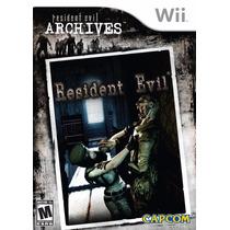 Resident Evil Archives Wii - Região Usa | Garantia De Loja!