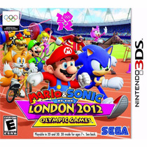 Jogo Mario And Sonic At London 2012 Olympic 3ds Original