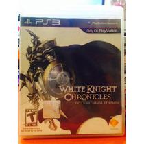 Jogo White Knight Chronicles Playstation 3, Jogo Fisico, Rpg