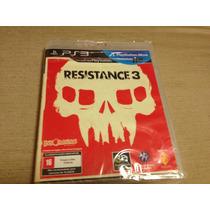 Resistance 3 Lacrado Compativel Com 3d E Com Play Move