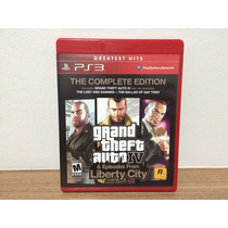 Jogo / Game Ps3 - Gta Iv The Complete Edition