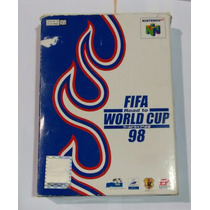 Carucho Nintendo 64 - Fifa Road To World Cup 98