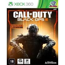 Jogo Xbox 360 - Call Of Duty - Black Ops 3 - Novo