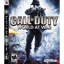 Call Of Duty World At War Ps3 Original Pronta Entrega