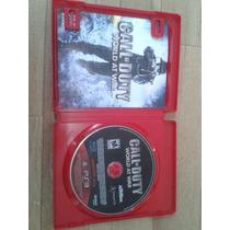 Jogo Call Of Duty World At War -original Para Playstation 3