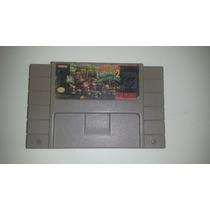 Super Nes: Donkey Kong Country 2 Original