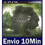 Shadow Of The Colossus Ps3 Psn Mídia Digital