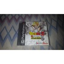 Dragon Ball Z Lacrado Para O Playstation 1