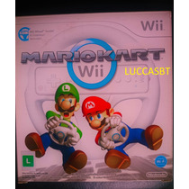 Mario Kart Nintendo Wii Com Volante [lacrado- Original]