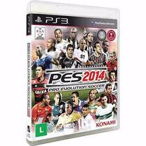 Pes 2014 Pro Evolution Soccer 14 Ps3 - Midia Fisica Lacrado