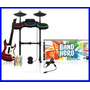 Guitar Hero Ps3 Band Hero Kit Playstation Guitarrabateria