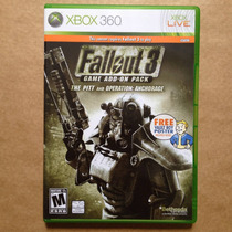 Fallout 3 Add On Pack: The Pitt, Xbox 360. Original!