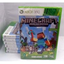 Minecraft Xbox360 Original Totalmente Português Rcr Games