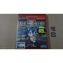 Sonic Ultimate Genesis Collection Ps3 Lacrado