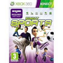 Jogo Kinect Sports Xbox 360, Novo, Lacrado