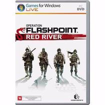 Operation Flashpoint Red River - Pc Dvd - Original Lacrado