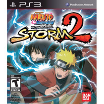 Jogo Ps3 Naruto Shippuden Ultimate Ninja Storm 2 Original
