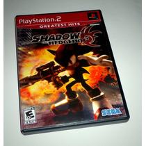 Shadow The Hedgehog Original Completo - Playstation 2 E Ps3